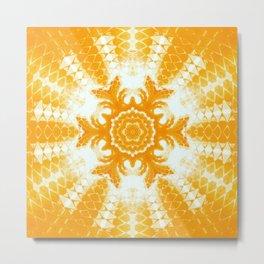 Goldish Orange Metal Print