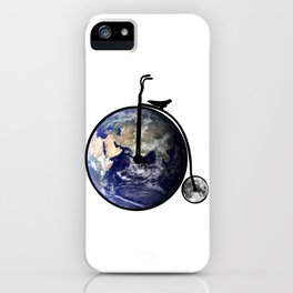 The bicycle of life iPhone Case