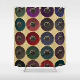 Recordalings 1 Shower Curtain