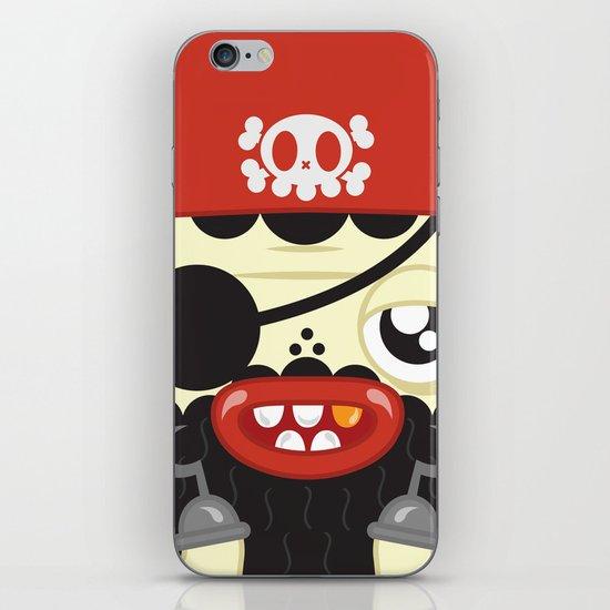 Pirate in Love iPhone & iPod Skin