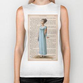 Jane Austen - Elizabeth Bennet Biker Tank
