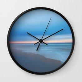 Painted Beach 2 Wall Clock
