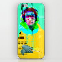 beastie boys iPhone & iPod Skins featuring Gioconda Music Project · Beastie Boys · Mike D. by Marko Köppe