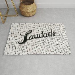 Saudade Portuguese Sidewalk // Calçada Portuguesa Rug