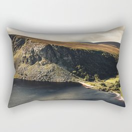 Irish Black Water - Lough Tay Rectangular Pillow