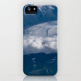 Aerial Glacier Two - Alaska iPhone Case