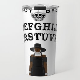 Queen Bey Ouija Board Travel Mug