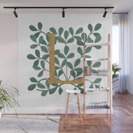 Forest Letter L Lite 2020 Wall Mural