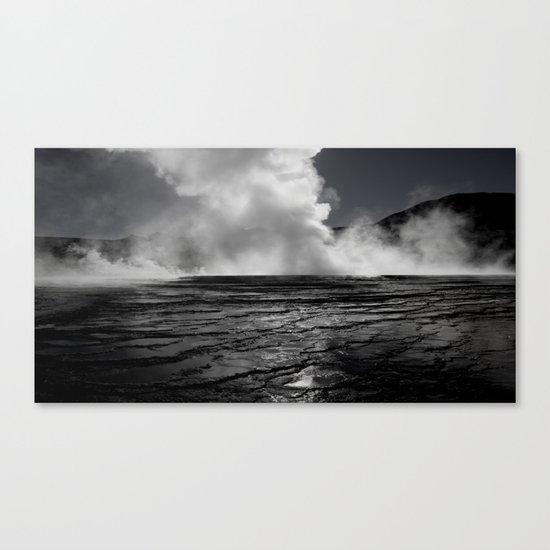 Tatio Geysers / Atacama  Canvas Print