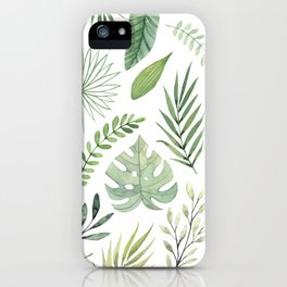 Leaves 8 iPhone Case
