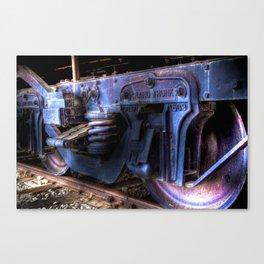 Grand Trunk Wheels Canvas Print