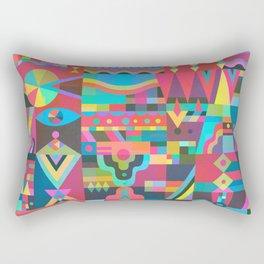 Schema 17 Rectangular Pillow