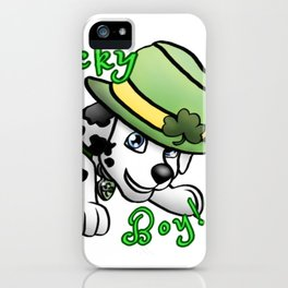 Lucky Boy! iPhone Case