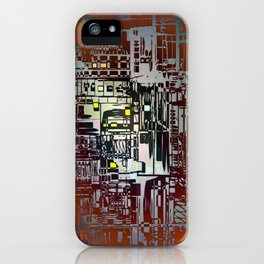 Where Are YOU - 2 / Density III iPhone Case