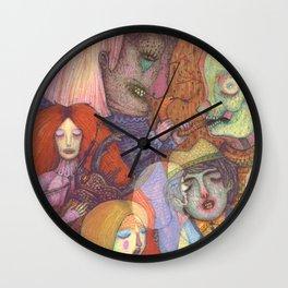 Forbidden Dance Wall Clock