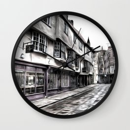 The Shambles York Art Wall Clock