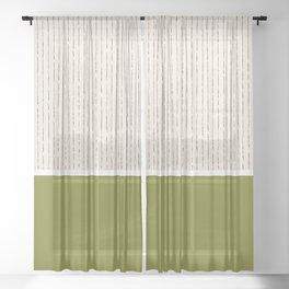 Matcha Latte Sheer Curtain