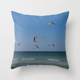 As Days Go On Throw Pillow