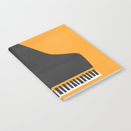 Grand Piano Notebook
