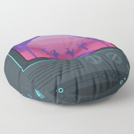 Nostalgia trip Floor Pillow