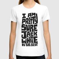 jack white T-shirts featuring Jack White by Chris Piascik