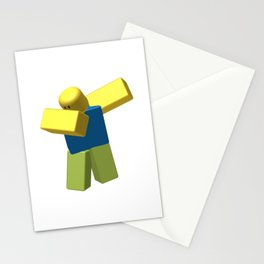 Roblox Dab Stationery Cards