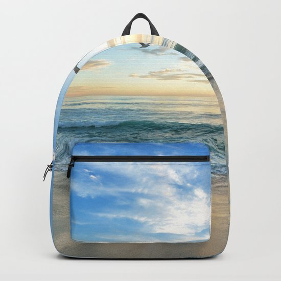 Beach Scene 34 Backpack