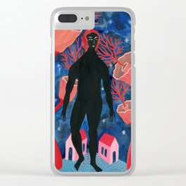 Night walker Clear iPhone Case