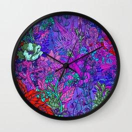 Electric Garden Wall Clock