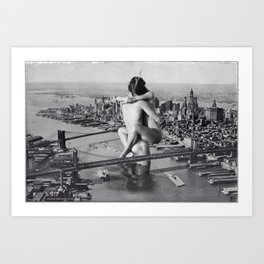 In Love With this city Art Print