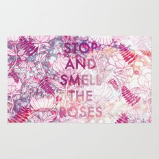 Stop and Smell the Roses Rug