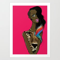 Made In ZA Art Print