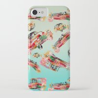 psychadelic iPhone & iPod Cases featuring cars  by mark ashkenazi