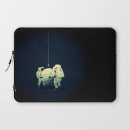 Moon hang Laptop Sleeve