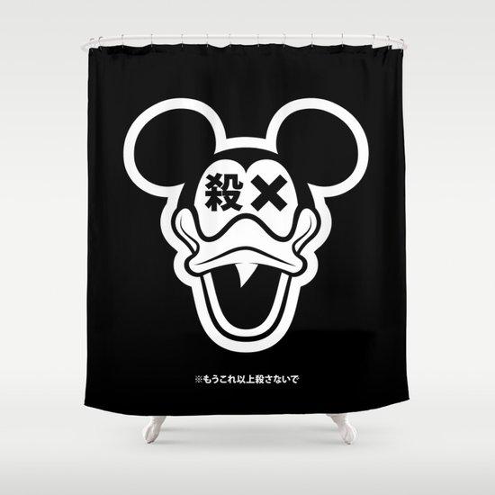 Mickey Duck Shower Curtain