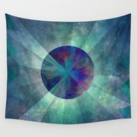 twilight Wall Tapestries featuring Twilight  by SensualPatterns