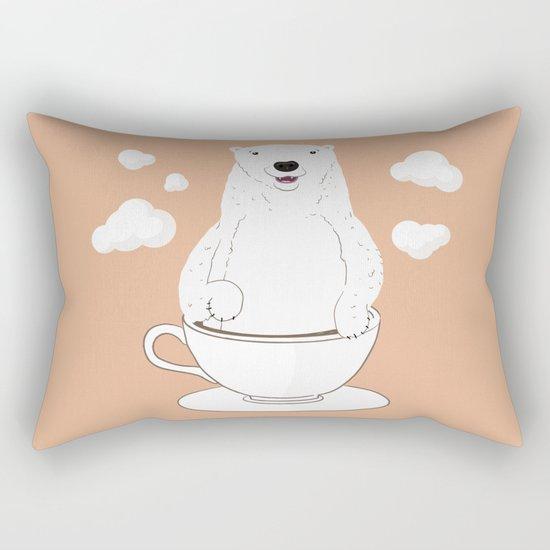 Take a Cup of Bear Rectangular Pillow