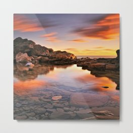 BEAUTIFUL SEASCAPE Metal Print