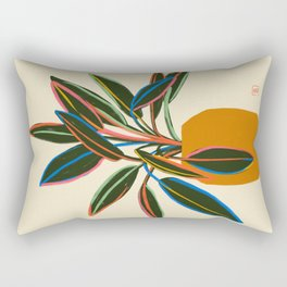 PLANT WITH COLOURFUL LEAVES  Rectangular Pillow