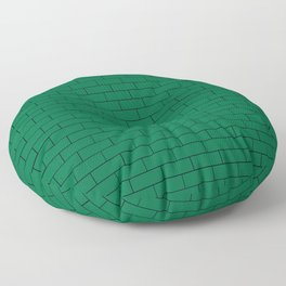 Green Wall Floor Pillow