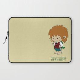 I'm not short, I'm a hobbit Laptop Sleeve