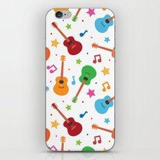 Guitars and Stars iPhone & iPod Skin