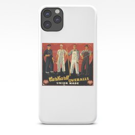 Vintage Carhartt Ad iPhone Case