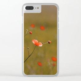 Buttercup Near Seneca Lake - Red Clear iPhone Case
