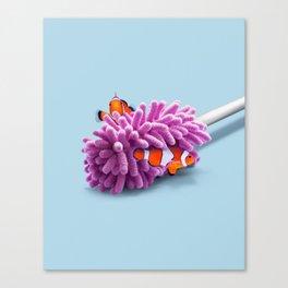 ANEMONE WIPER Canvas Print
