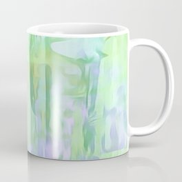 Cool Waves Of Color Abstract Coffee Mug