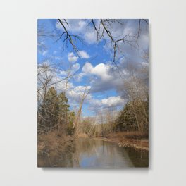 Ozark Creek (Fall #2) Metal Print