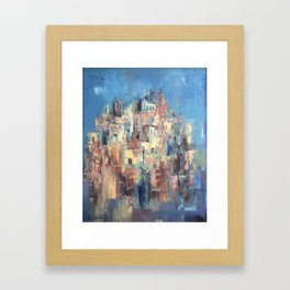 Old City Framed Art Print