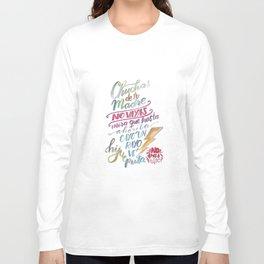 No vas y punto Long Sleeve T-shirt