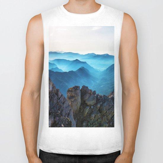 Mountains Breathe Too Biker Tank